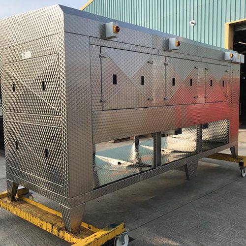 Blast freezers horizontal coil bottom pic A