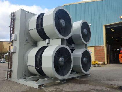 Case Studies Low noise gas cooler